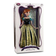 nice Limited Edition Anna and Elsa Dolls - Frozen - First Look - Disney Store Facebook Page - Image #2 - Anna Boxed - 2013-11-01