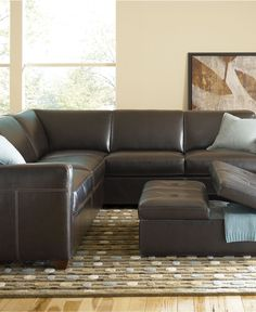 Lucas Living Room Furniture Sets & Pieces, Sectional Sofa CLOSEOUT $1300