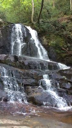Laurel Falls, the most Falls in the Park. Beautiful Photos Of Nature, Beautiful Nature Wallpaper, Beautiful Places To Travel, Nature Pictures, Amazing Nature, Beautiful Landscapes, Great Smoky Mountains, Laurel Falls, Smoky Mountain National Park