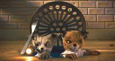 still of Ash & Kristofferson from Fantastic Mr. Fox