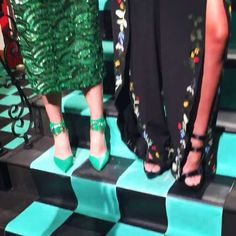 Checkerboard stairs and mermaid style at @aliceandolivia. #nyfw #ss18. .  .  .  .  #fashion #jetset #luxury #globalglam #newyork #luxurylife #style #redcarpet #glamour  #hautecouture #streetstyle #couture #beauty #luxurylifestyle  #fashionblogger #ootd #travel #traveler #wanderlust #wander  #wanderer #blogger #fashiongram #instastyle  #fashionista #runway  #love #aliceandolivia