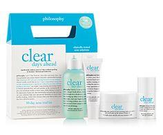 Philosophy - Clear Days Ahead Acne Trial Kit