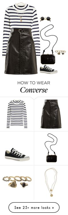 """""""in the night"""" by abigailshanice on Polyvore featuring Steffen Schraut, RED Valentino, Converse, Fendi and BP."""