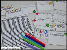 Positive Notes Home: Notes and Record Log Teacher Plan Books, Teacher Binder, Teacher Notes, Classroom Management Tips, Classroom Organization, Positive Notes Home, New Classroom, Classroom Ideas, Positive Behavior