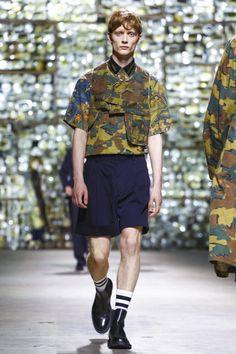 Dries Van Noten Fashion Show Menswear Collection Spring Summer 2017 in Paris