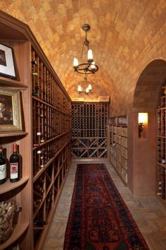 Wine Cellar | Harrell & Co Architects - Naples, Florida