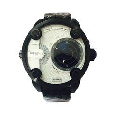 Diesel  black and white nice combination  watch for Men.