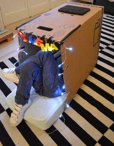CARDBOARD FUN | Mommo Design - Cardboard IPad cinema