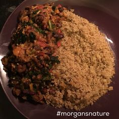 #sundaydinner A mixture #blackturtlebeans #gungopeas #blackeyedpeas #kale and #scotchbonnet  with #quinoa 😋😋😋#homecooking  #healthychoices #healthymeal #madebyme #madefromscratch #morgansnature #foodgasm #foodlover #foodie #fitfood #freshfood #mycreations #nutrition #goodfood #plantbased #cleaneating #earthlydelights #meatfree #vegan #vegetarian