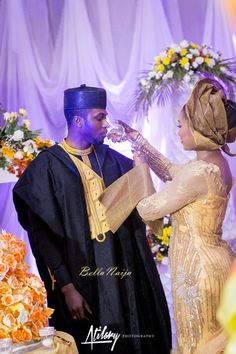 BellaNaija Weddings presents Safiya Aliyu & Umar Isa Yuguda's Glorious Northern Wedding! Atilary Photography