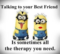 "we always collect a perfect and clean Minion Quotes for you.Today we collect that type Quotes that will make you laugh with a great lesson.So scroll down and keep reading these ""Top Minion Quotes About Friends"". Sister Quotes Funny, Bff Quotes, Best Friend Quotes, Friendship Quotes, Funny Quotes, Funny Sister, Qoutes, Brother Quotes, Brother Sister"