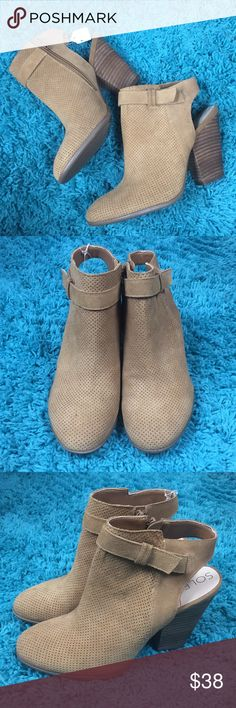 So Perin by Soul Society Brand New Soul Society Booties Zip Up Sole Society Shoes