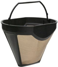 KRUPS 02633 Gold Tone Coffee Filter Fits KRUPS coffee makers model numbers KM720D50 KT720D50 253 466 467 458 and 144 ** Continue to the product at the image link.  This link participates in Amazon Service LLC Associates Program, a program designed to let participant earn advertising fees by advertising and linking to Amazon.com.