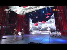 Watch Lee Min Ho sing at China's Lunar New Year gala 2014央视马年春晚 歌曲《情非得已》 庾澄庆 李敏镐