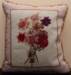 Scottish Needlepoint Pillow by uniquelyartsy on Etsy, $138.75