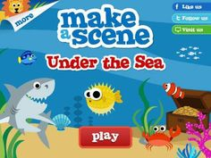 Discount: Make A Scene: Under The Sea is now 0.99$ (was 2.99$)! An app for creating virtual sticker scenes.