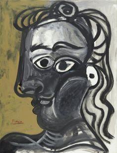 Pablo-Picasso_Tete-de-femme-dans-profil-Jacqueline_1970.jpg (600×784)