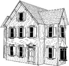 Free doll house design plans wooden doll house plan for Victorian doll house plans