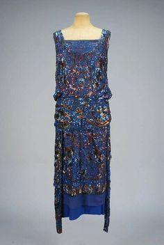 1920's evening dress