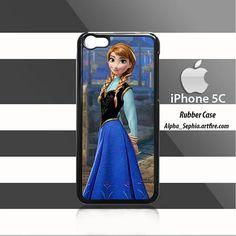 Anna Frozen iPhone 5c Rubber Case Cover