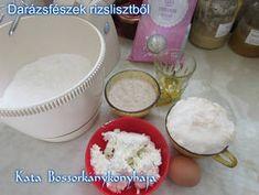 Darázsfészek rizslisztből (Gluténmentes)   Kissné Zilahi Katalin receptje - Cookpad receptek Sugar, Food, Essen, Meals, Yemek, Eten