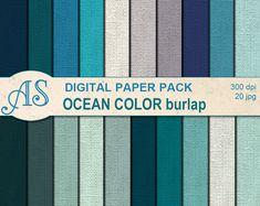 https://www.etsy.com/listing/225945564/digital-ocean-color-burlap-paper-pack-20