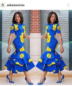 Beautiful Plain And Patterned Ankara Designs 2019 Ankara Styles For Women, Kente Styles, Ankara Gown Styles, Ankara Gowns, Latest Ankara Styles, Beautiful Ankara Styles, African Wear Dresses, Latest African Fashion Dresses, African Print Fashion