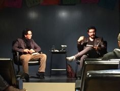 Fundació Han Nefkens » Eduardo Ruiz talks during the MXaBCN literary meetings