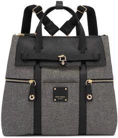 9a1d7a5e5b11 Henri Bendel Jetsetter Convertible Canvas Backpack Henri Bendel Jetsetter