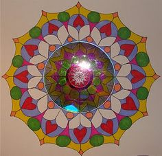 Radial Symmetry with an old CD