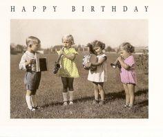Kartoenfabriek: KTF971 - Ansichtkaart - Happy birthday | Kartoenfabriek | Kaartfanaat