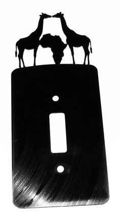 Giraffe africa light switch cover R50 each excluding postage