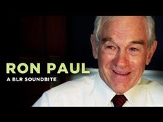 """""""Ron Paul"""" — A BLR Soundbite Not trying to be politcial, just find this funny. Freaking Hilarious, Really Funny, Captain Spock, Ron Paul, Cheer Me Up, Im Bored, What Is Life About, Getting Old"""