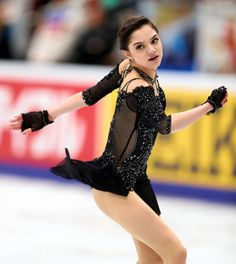 Evgenia Medvedeva of Russia competes in the Ladies Singles Free Skating during day two of the ISU Grand Prix of Figure Skating Rostelecom Cup at Ice...