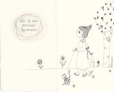 illustrated moleskine cahier by karoeza #project_mevrouw_bijennest