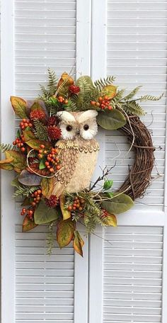 Thanksgiving Wreaths, Holiday Wreaths, Owl Wreaths, Halloween Door Wreaths, Yarn Wreaths, Ribbon Wreaths, Christmas Wreaths For Front Door, Tulle Wreath, Floral Wreaths