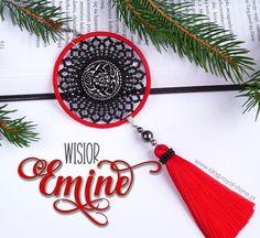 Emine - wisior z chwostem - tutorial Seed Bead Earrings, Seed Beads, Beaded Earrings, Free Pattern, Pendants, Personalized Items, Stone, Blog, Beading