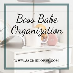 Boss Babe Organization for the perfect office or work space Girl Blog, Boss Babe, Helping Others, My Design, Coaching, Organization, Space, Training, Getting Organized