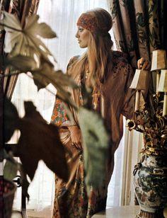 "totalement70: "" Lynette Asquith, 1971. """