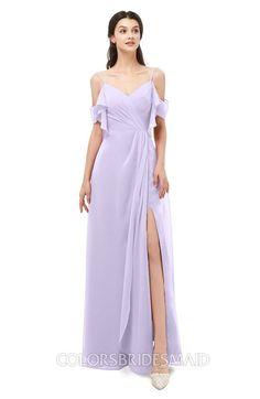 ColsBM Blair  Pastel Lilac Bridesmaid Dresses Lilac Bridesmaid Dresses, Bridesmaids, Bridal Stores, Dress Out, Blue Heron, Dress Making, Dream Wedding, Cold Shoulder Dress, Chiffon