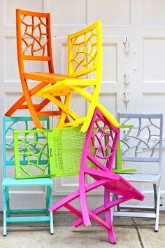 sillas y colores  www.fustaiferro.com