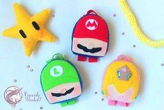 Pattern PDF  Miniloves Mario Bros Mario Bros, Pdf, Christmas Ornaments, Holiday Decor, Instagram, Pattern, Happiness, Christmas Jewelry, Patterns