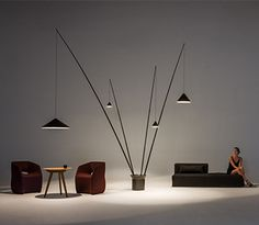 Floor lamps - North by Arik Levy - Vibia