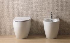 Sanitari a terra Terra, Laundry In Bathroom, Bathrooms, Sink, Indoor, Canning, Interior Design, Home Decor, Home