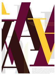Bodoni Poster 700 x 930 mm