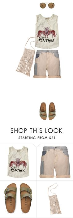 """""""🎶"""" by faye-valentine on Polyvore featuring Scotch & Soda, McQ by Alexander McQueen, Birkenstock and Ray-Ban"""