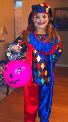 Check out this listing on Kidizen: Halloween Freckles The Clown Costume #shopkidizen