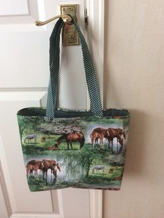 Lovely fully lined tote bag