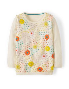 flowers and knots jumper