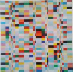 Richard Paul Lohse, Trente rangées systématiques de tons, 1950-1955